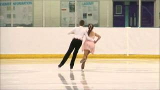 Kira Baker and Sean Isaac Parry British Champs 2013 PD1