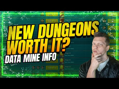 Are the new Dungeons WORTH IT? | RAID Shadow Legends