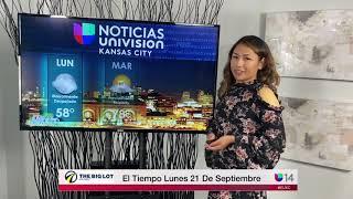 NOTICIAS UNIVISION KANSAS CITY - LUNES 21 DE SEPTIEMBRE DE 2020