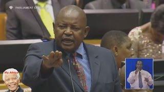 Jacob Zuma Has Broken Oath Of Office. Mosiuoa Lekota Of COPE width=