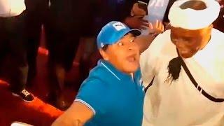 """Diego Armando Maradona bailando Psy Trance """"Vini Vici - The Tribe"""""""