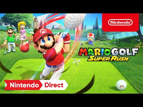 WTFF::: Nintendo Might Have Revealed A New Mario Golf: Super Rush Character Ahead Of Schedule