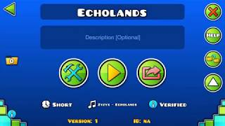 Darwin styled level? Echolands preview | Geometry Dash 2.11