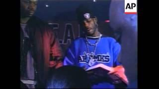 DMX celebrates the release of his autobiography