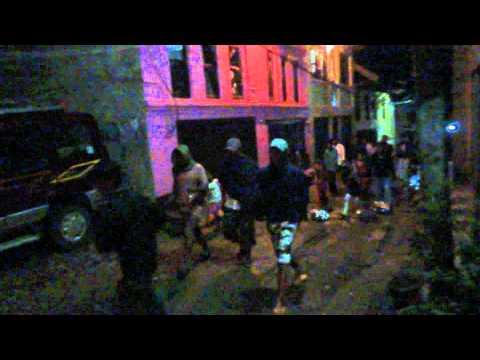 Gaijatra Festival by night in Tansen streets Nepal