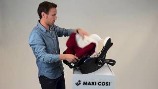 Maxi-Cosi CabrioFix | How to remove the cover