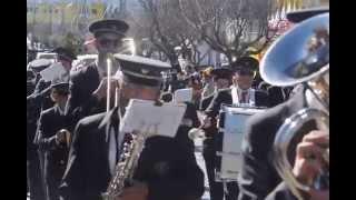 Foz Côa - Desfile Etnográfico  2015  - Banda de Freixo de Numão r