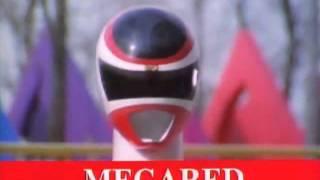 Megaranger battle 1