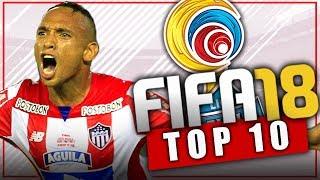 FIFA 18 TOP 10 JOVENES PROMESAS DE LA LIGA DE COLOMBIA - LIGA AGUILA - Modo Carrera