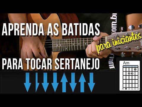 APRENDA A BATIDA PRA TOCAR SERTANEJO UNIVERSITÁRIO NO VIOLÃO