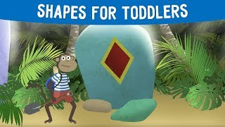 Shapes for toddlers | Learn simple shapes with Kenny