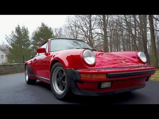 Why the Porsche 911 Turbo is the Most Iconic Car in the World (1987 930 Review)