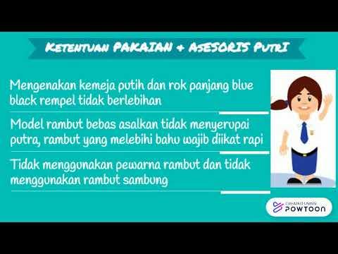 Tata Tertib SMPN 21 Bandung