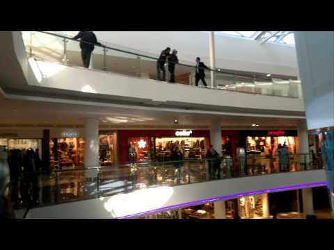 Morocco Mall – Ascenseur de l'aquarium