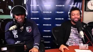 DeRay Davis Trades In Jokes For Rhymes and Freestyles Live on Sway In The Morning