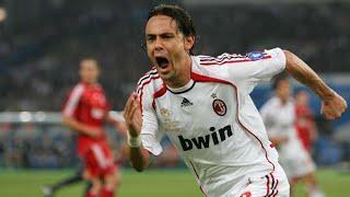 Filippo Inzaghi,striker maut penuh keberuntungan yang takan terlupakan