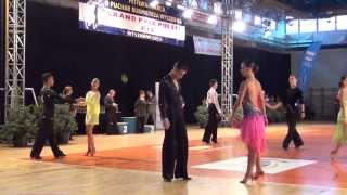 Festiwal Tańca Wyszków 2013 16-18 GP Latin 1.2F CCC Bakierska Kocoń