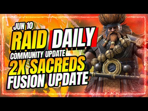 2x SACRED Weekend! New CvC Soon?! | RAID Shadow Legends