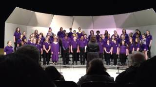 """What the World Needs Now Is Love"" performed by Bloomington High School concert choir 2016"