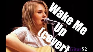 Avicii - Wake me up (guitar and vocal cover)