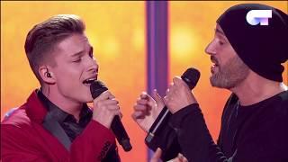 DON'T LET THE SUN GO DOWN ON ME - Raoul y Alejandro Parreño | OT 2017 | Gala Navidad