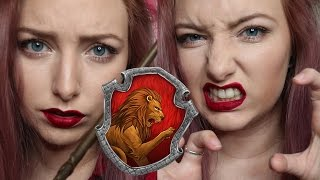 The Hogwarts Houses: GRYFFINDOR | Makeup Tutorial