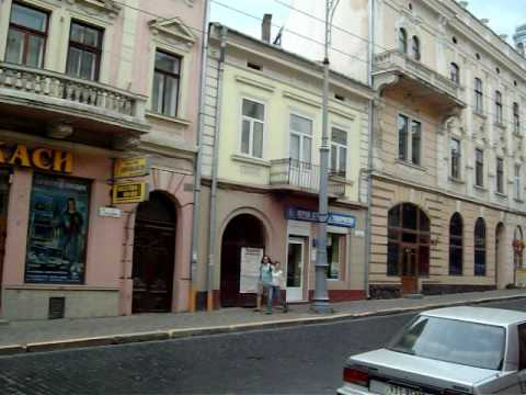 Chernivtsi's Old Town (Cernăuți)