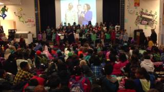 """Yes I Can"" by Hawthorne Elementary School Choir and friends (CLIP)"