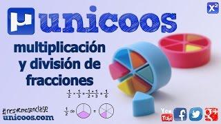 Imagen en miniatura para Multiplicacion y división de fracciones