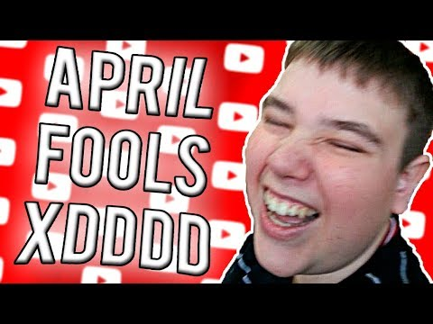 I do not like YouTube April Fools