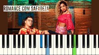 💎Wesley Safadão e Anitta - Romance com Safadeza (Piano tutorial)💎