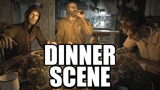 RESIDENT EVIL 7 - Baker Family Dinner Table Scene