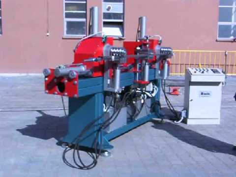 AGİS MAKİNA - 2 KAFALI 3 PARÇA BÜKEN BORU BÜKME MAKİNASI - PIPE BENDING MACHINE WITH 2 HEADS