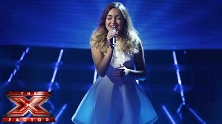 Lauren Platt sings Irene Cara's What A Feeling  | Live Week 2 | The X Factor UK 2014