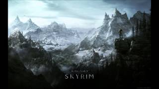 TES V Skyrim Soundtrack - Silent Footsteps
