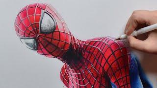 Drawing The Amazing SPIDER-MAN | Nimauke