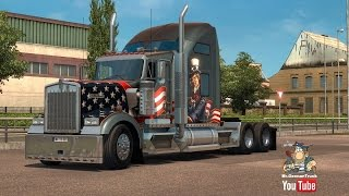[ETS2 v1.22] Kenworth W900 Fixed for ETS2