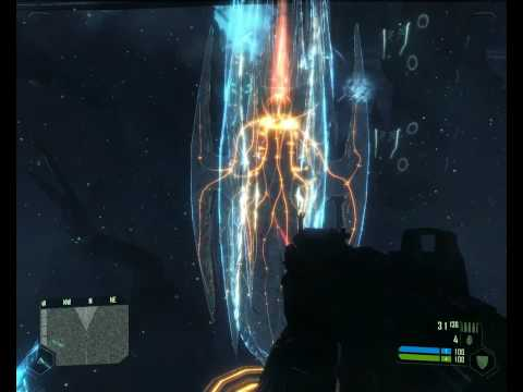 Crysis Alien Ship + Army Gameplay Q9550 + 4850 1gb