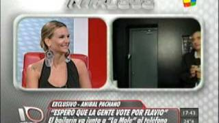 Intrusos- Anibal Pachano vs Amalia Granata