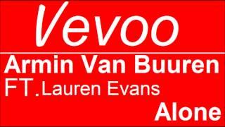 Armin Van Buuren FT. Lauren Evans | Alone | Official Audio | Vevoo