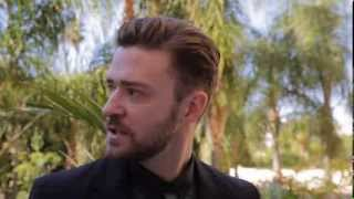 Justin Timberlake on Golden Globe Awards 2014