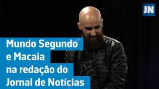 """Mundo Segundo e Macaia - """"Raio de Luz"""" (Audio JN Live) 17-12-2016"""