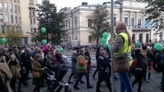 Peli Poikki- mielenosoitus, Helsinki 24.09.2016
