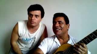 Wastiman e a dupla sertaneja Wastiman e Luciano cantando Doce Mistério de Leandro e Leonardo
