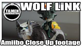 Wolf-Link Amiibo Close Up footage