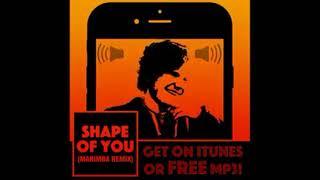 Nhạc chuông iphone và (shape of you - (MARIMBA REMIX)