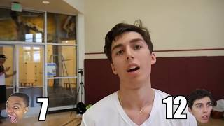TOP 10 IMPOSSIBLE BASKETBALL SHOTS