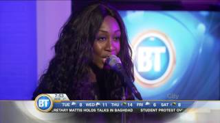 Beverley Knight performs 'I Have Nothing' live!
