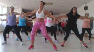 """TANIA ZUMBA """"Embriagame"""" by Zion y Lennox"""