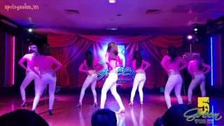 """""""GREEN 5"""" SHOW DANCE 2016 - Bachata Ladies Team (SPRING SALSA)"""
